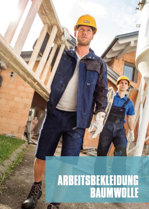 Arbeitsbekleidung am Bau