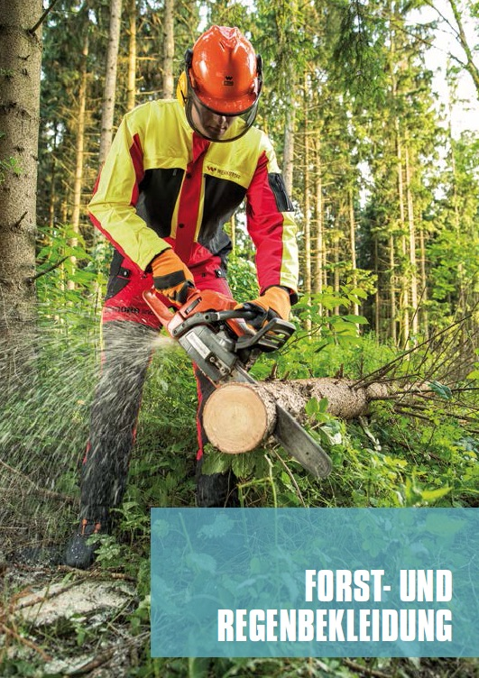 Forst und Regenbekleidung