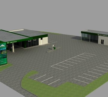 Eröffnung der neuen LAGERHAUS Tankstelle in Wernberg