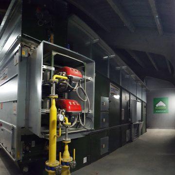 Neue Bio-Getreidetrocknung in Betrieb