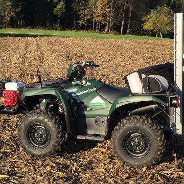 GPS Bodenprobenentnahme