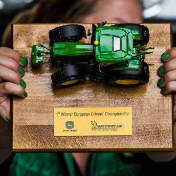 Traktorenmeisterschaft auf Formel 1-Strecke