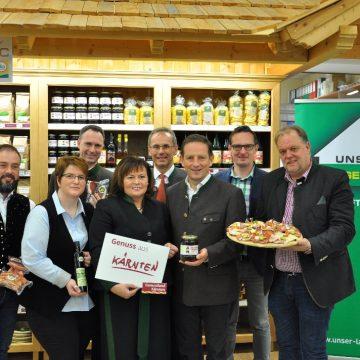 Unser Lagerhaus ist Genussland Kärnten Partner