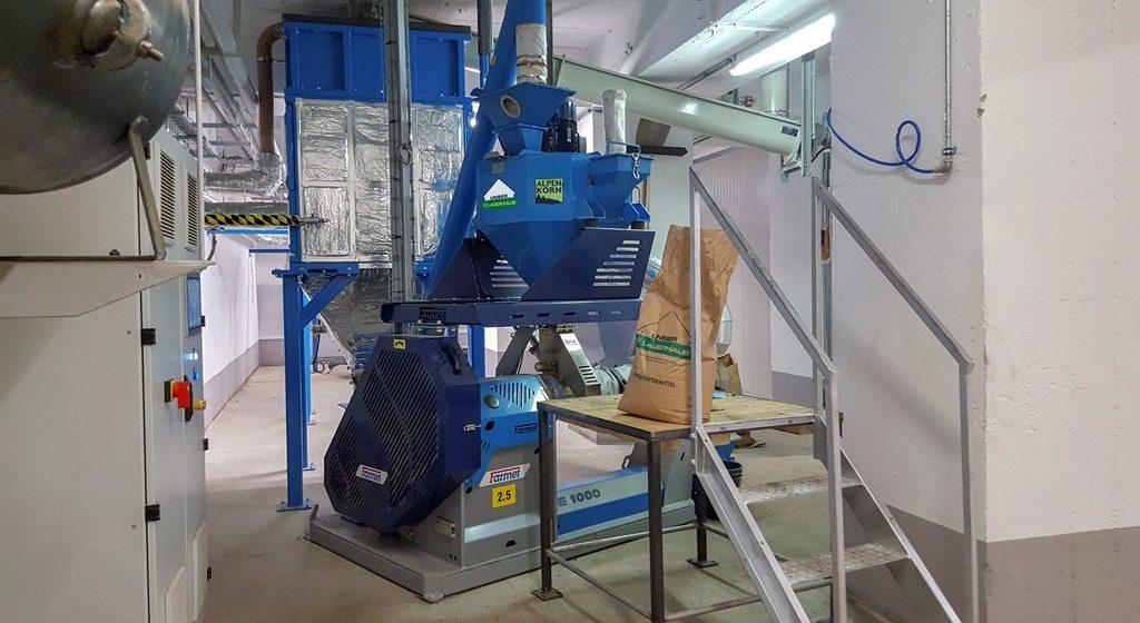 Kärntens größte Bio-Sojabohnenaufbereitung