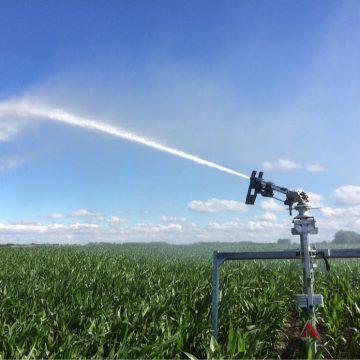Effiziente Felderberegnung dank Satellitentechnologie