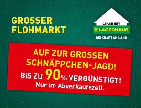 Flohmarkt im Lagerhaus Feldkirchen und im Lagerhaus Spittal