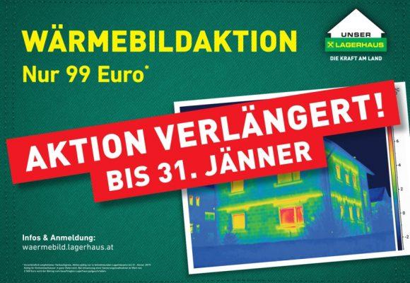 Wärmebildaktion bis 31. Jänner 2019 verlängert