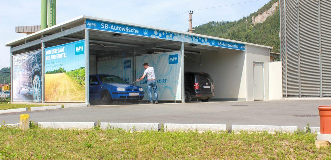 Neues Waschcenter in Launsdorf