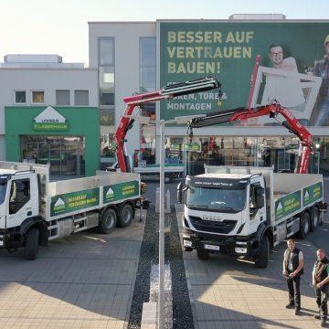 Lagerhaus erneuert LKW Fuhrpark