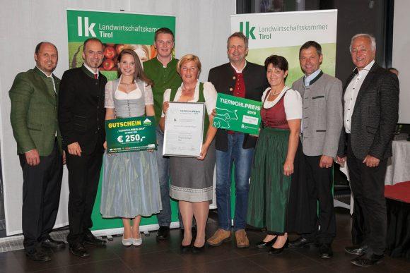 Landwirtschaftskammer Tirol verleiht erstmals Tierwohlpreis