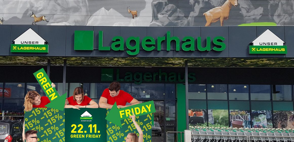 Green Friday im Lagerhaus