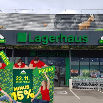 Green Friday im Lagerhaus