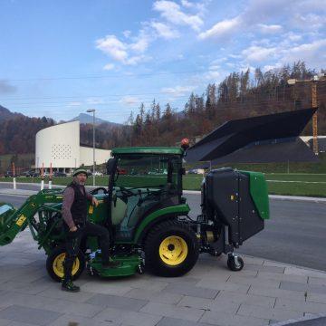 John Deere 2026 für Tiroler Festspiele in Erl