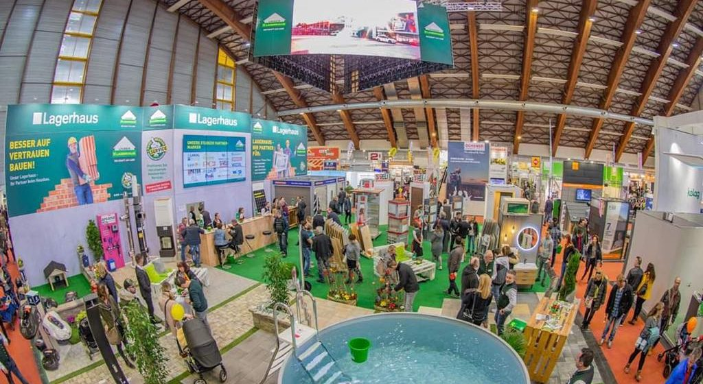 Unser Lagerhaus präsentierte Baukompetenz auf der Häuslbauermesse