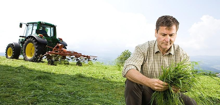 Wir sind auch jetzt für unsere Landwirte da