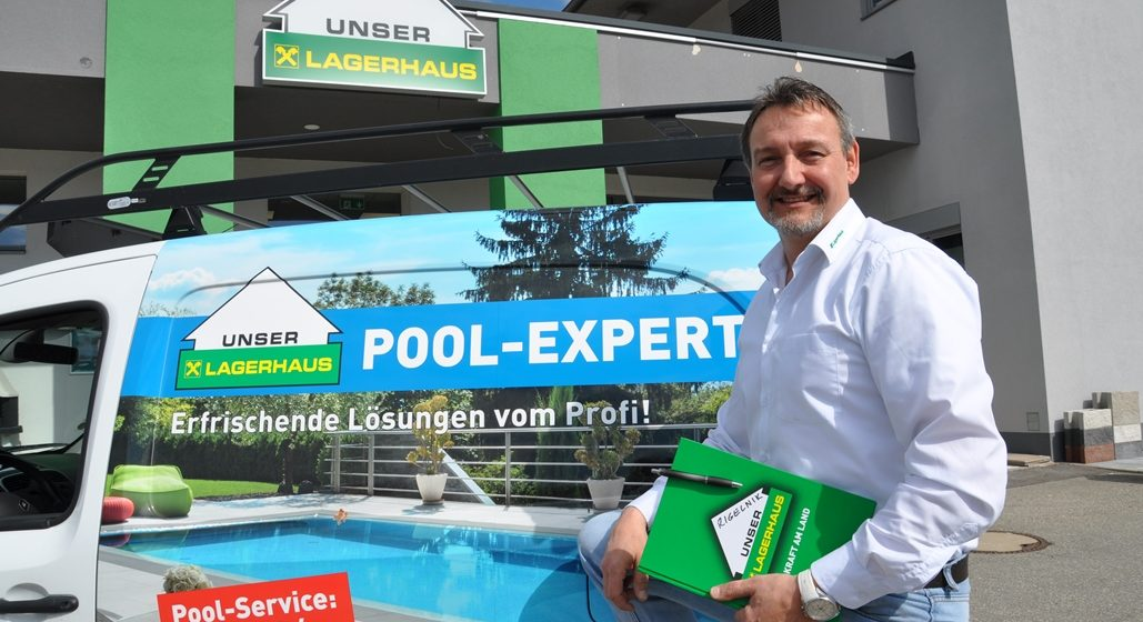 Ab in den Pool