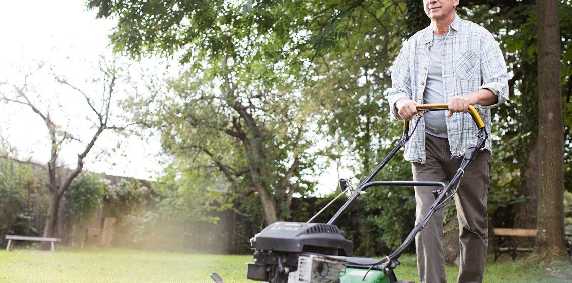 Auszeit für Ihren Rasenmäher
