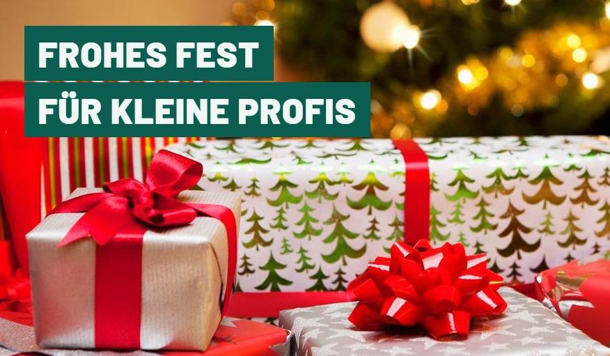 Frohes Weihnachtsfest für unsere kleinen Profis