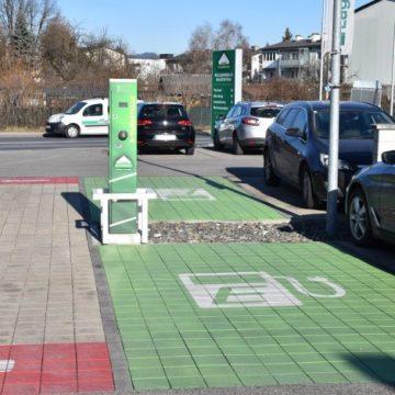 E-Tankstelle in Klagenfurt