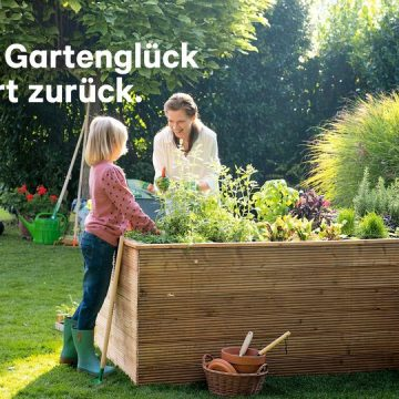 Gartenspaß mit Kindern