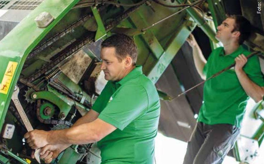 Service für Ihre Grünland-Technik