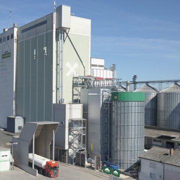 Energieeffiziente Maistrocknung in Betrieb